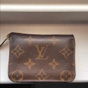 EUC Louis Vuitton Authentic Zippy Coin Purse
